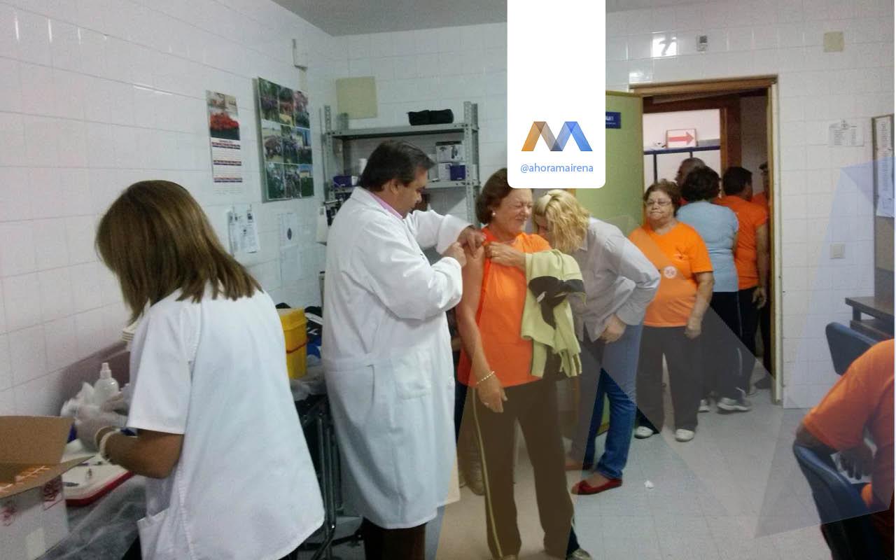Campaña de vacunación de la gripe estacional