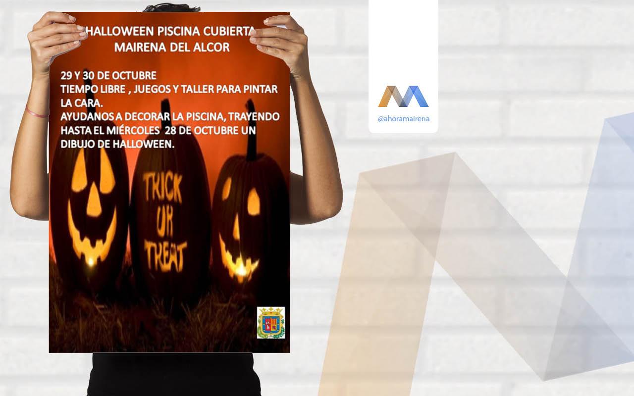 Halloween en la piscina cubierta el peri dico digital de for Piscina mairena del alcor 2017