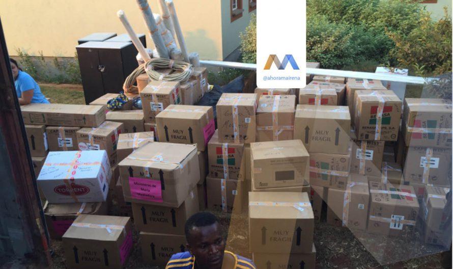 NUEVO CONTENEDOR A MALAWI – LLAMARADA DE FUEGO