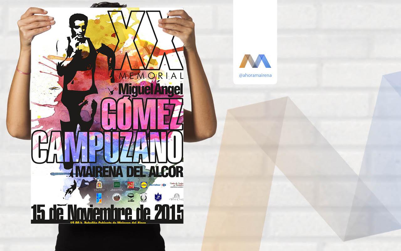 Abierto el plazo de inscripción para participar en el XX Memorial Miguel Ángel Gómez Campuzano