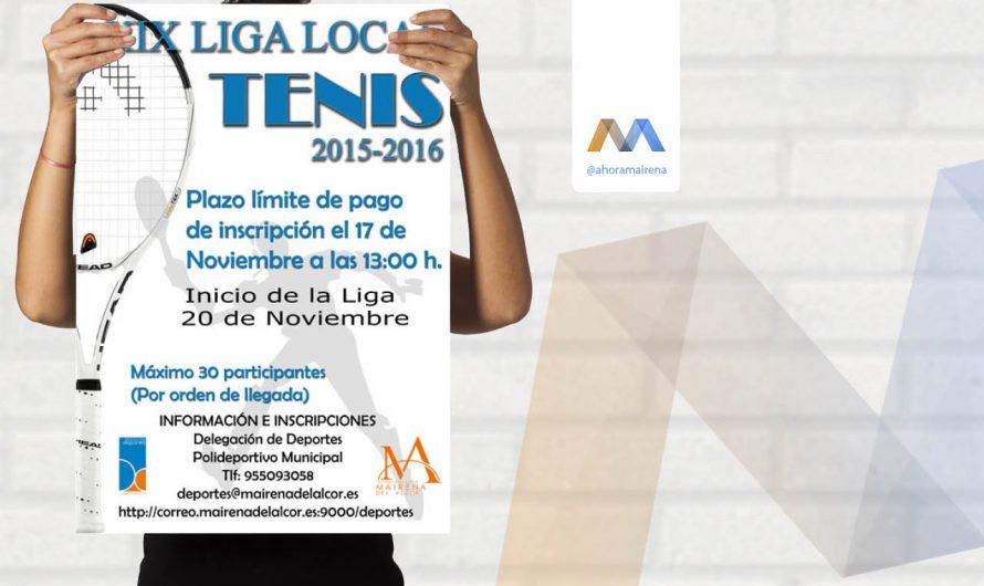 XIX Liga Local de Tenis