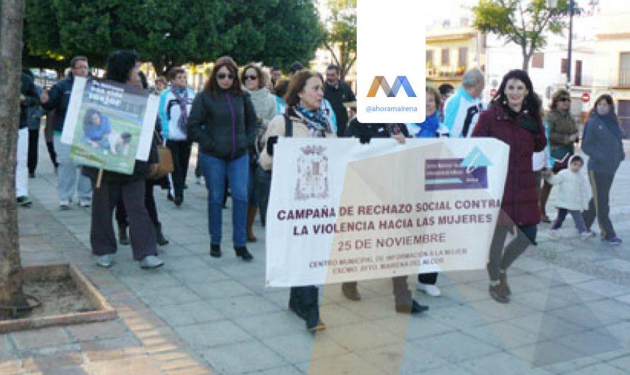 Marcha contra la Violencia hacia las Mujeres
