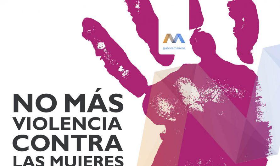 Manifiesto contra la violencia hacia las mujeres