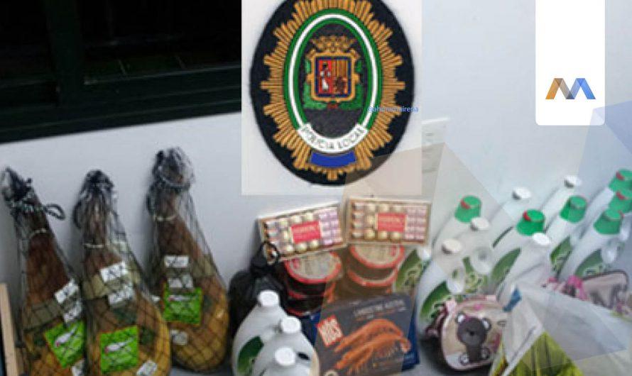La Policía Local intercepta un vehículo y a sus ocupantes tras perpetrar un robo en Carmona