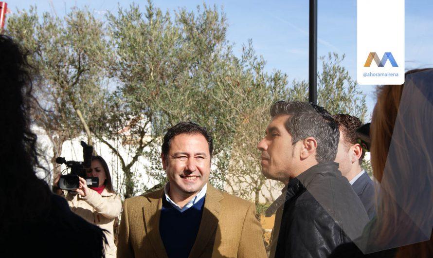 El Ayuntamiento recepciona las obras del Parque del Olivar del Castillo en parque urbano
