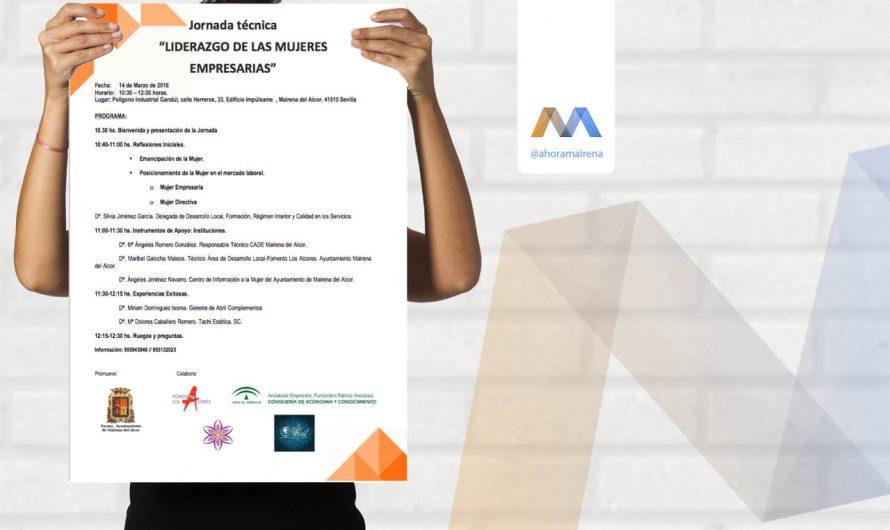 Jornada técnica « Liderazgo de las Mujeres Empresarias »