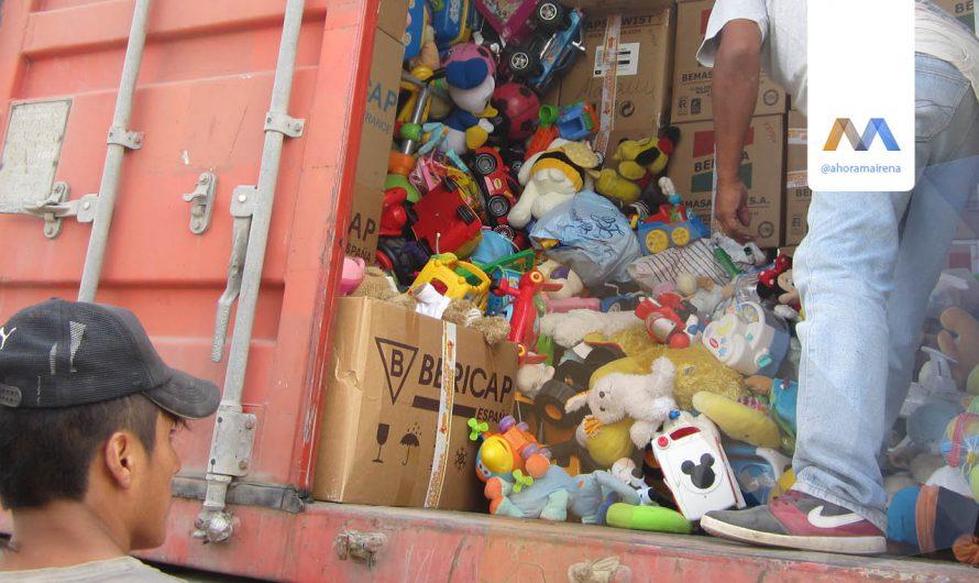 Nuevo contenedor a Perú de Llamarada de Fuego