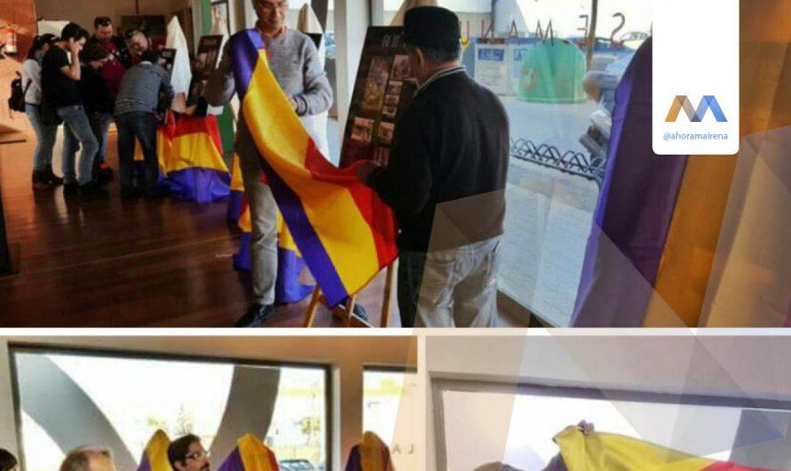 Izq. Unida coloca banderas aconstitucionales en la VCA