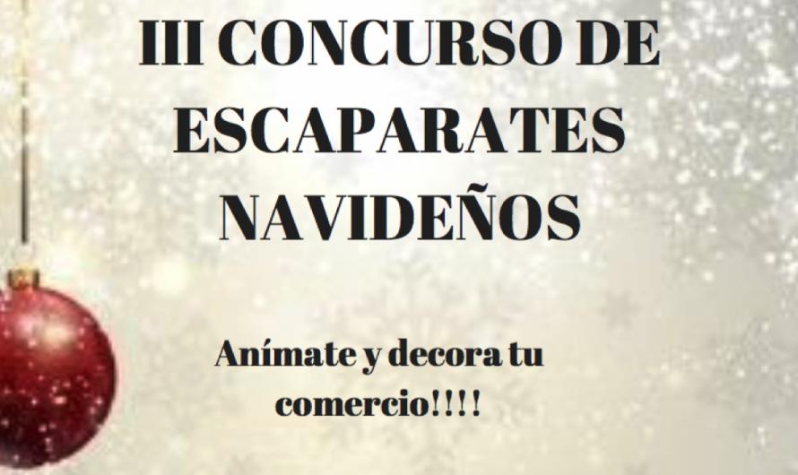 III CONCURSO DE ESCAPARATES NAVIDEÑOS