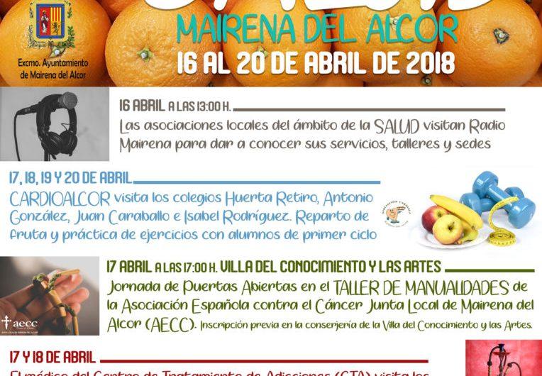 Convocada la 'I Semana de la Salud' en Mairena del Alcor.