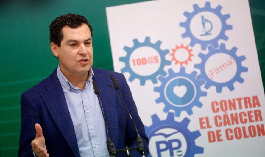 El PP andaluz exige a la Junta de Andalucía implantar el test para detectar el cáncer de colon.