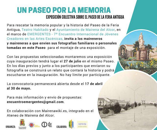 Paseo y exposición por la memoria de la feria de Mairena del Alcor.