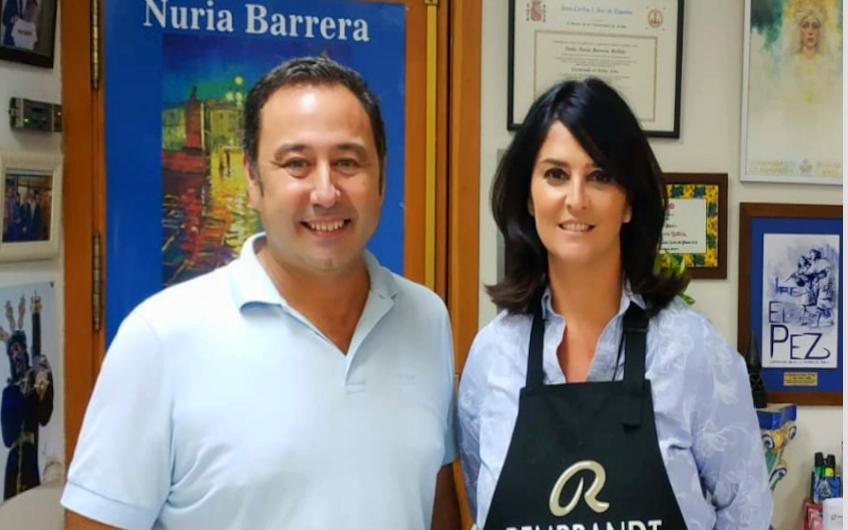 NURIA BARRERA DESIGNADA AUTORA DEL CARTEL DE LA FERIA DE ABRIL DE MAIRENA DEL ALCOR 2019