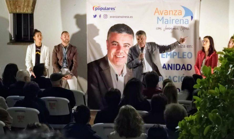 ÉXITO ABSOLUTO EN LA PRESENTACIÓN DE LA CANDIDATURA DE JUANMA LÓPEZ PARA LAS ELECCIONES MUNICIPALES DE MAYO