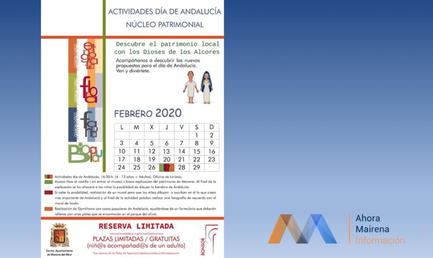 Actividades en el Núcleo Patrimonial el Día de Andalucía