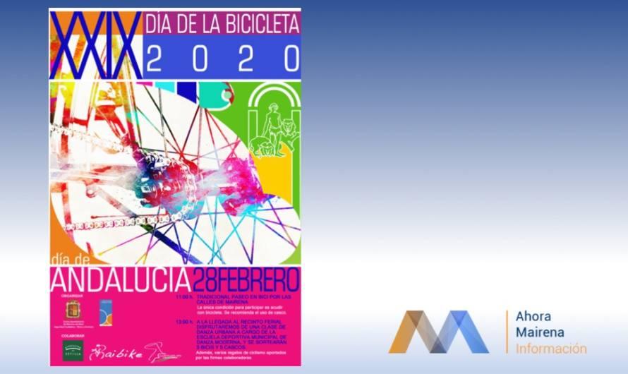 XXIX Día de la bicicleta 28-F DÍA DE ANDALUCIA