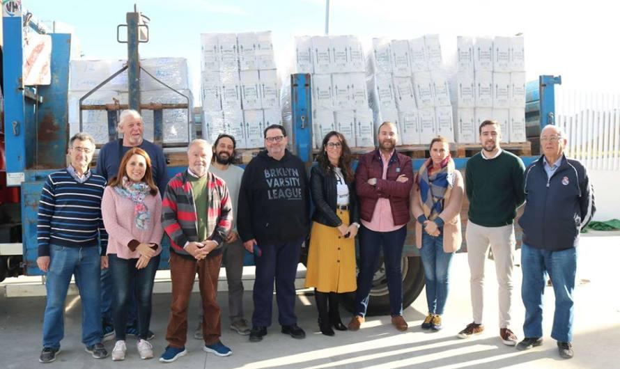 Caravana por la Paz finaliza con la recogida de más de 7.000 kilos de alimentos