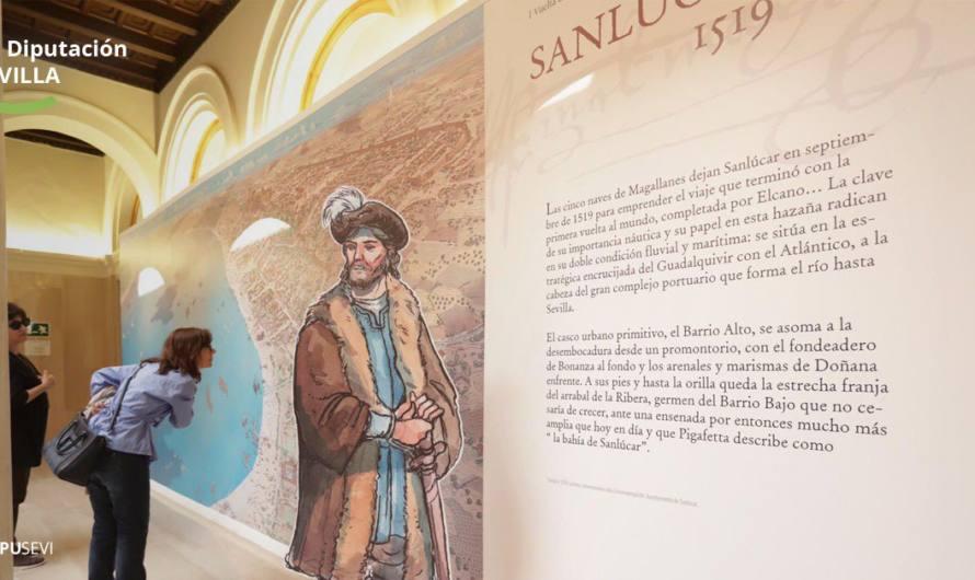 La exposición «Sevilla y Sanlúcar en 1519. El origen de la primera vuelta al mundo» en Mairena del Alcor