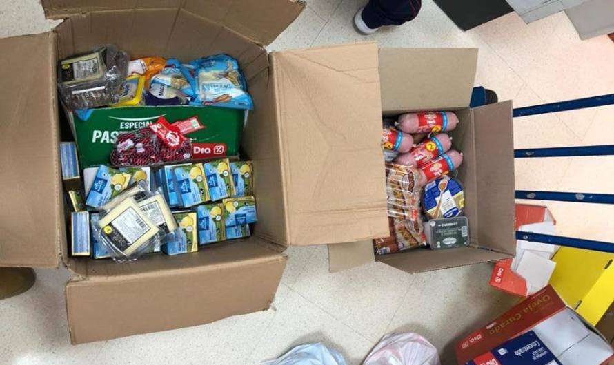 Servicios Sociales reparte lotes de alimentos y productos de higiene personal para las familias maireneras afectadas por el COVID19