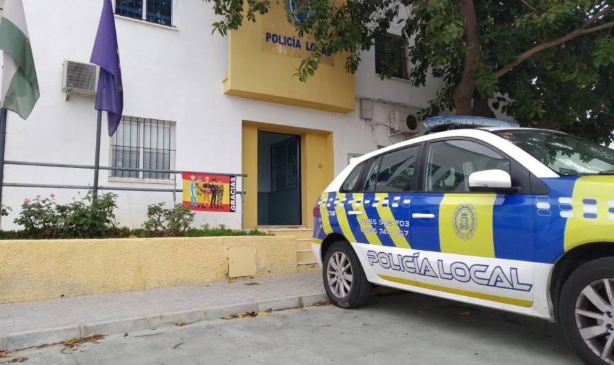 La policía local detiene a dos personas durante el mes de Abril por incumplimientos del estado de alarma