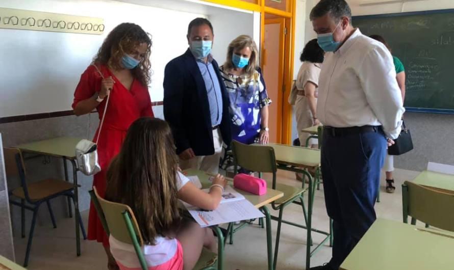 40 niños maireneros participan en el programa de refuerzo estival