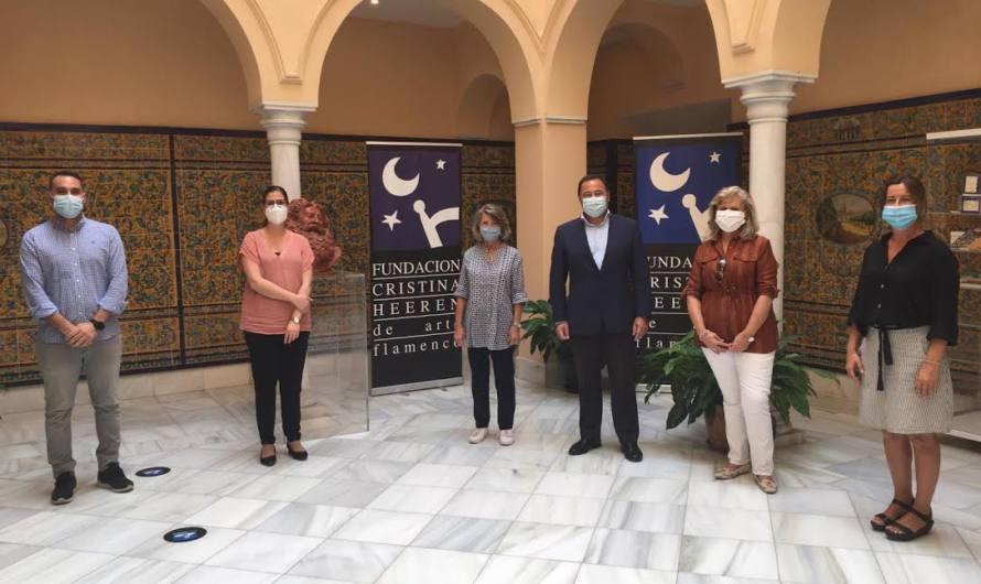 Fundación Cristina Heeren y el IES Los Alcores  sientan las bases para trabajar el flamenco en las aulas