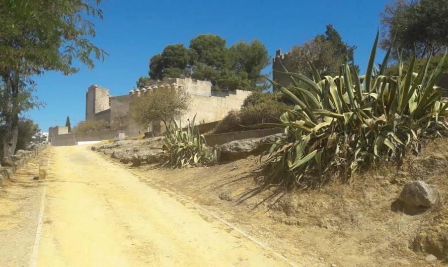 Siguen avanzando las obras del Castillo y su entorno