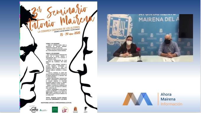 El III Seminario Antonio Mairena rinde honores a Antonio Mairena y Calixto Sánchez