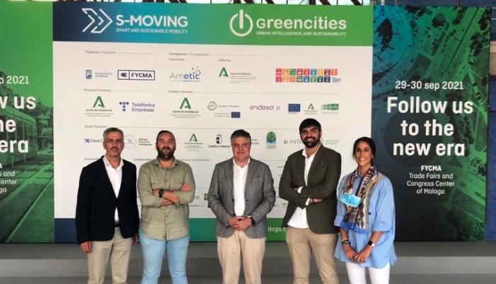 Presentado el Plan Smart City de Mairena del Alcor en el Foro de Inteligencia y sostenibilidad urbana de Málaga